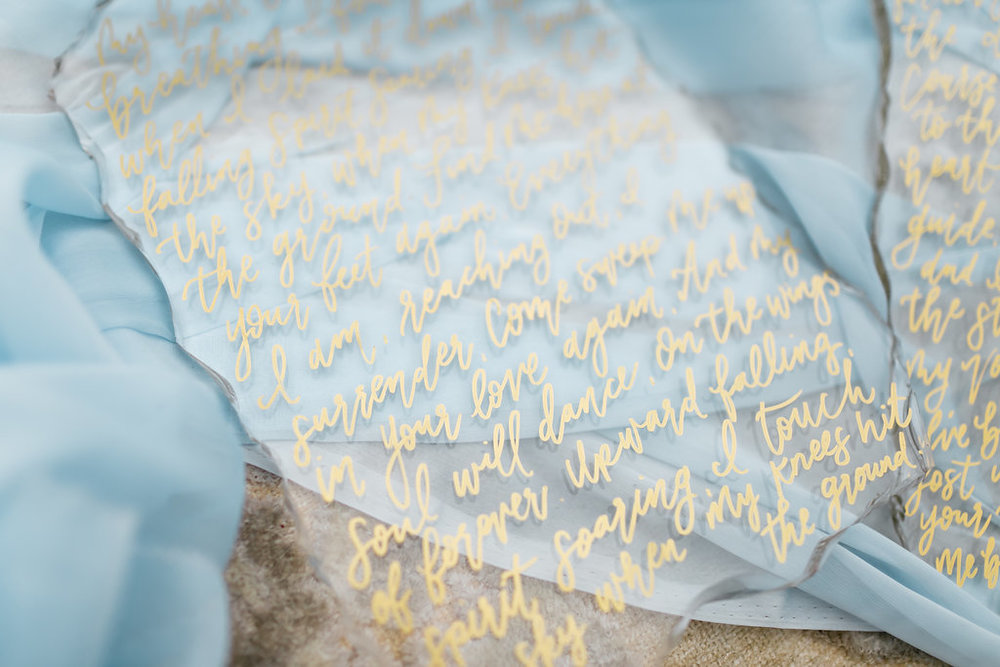 Santa Barbara Wedding and Elopement | Invitations and Stationery | Fine art calligraphy | Natalie Schutt Photography | Pirouette Paper Company