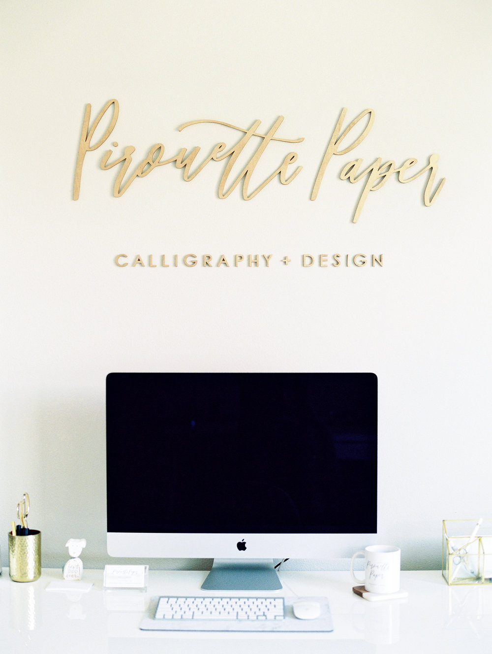 Pirouette Paper Office Tour | Home Studio Tour |  Mallory Dawn Photography