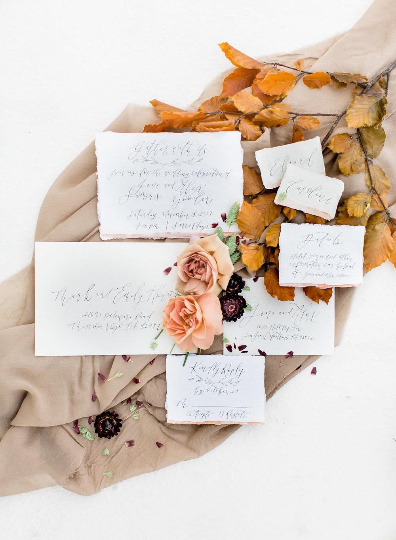 Fall Tablescape Inspiration | Pirouette Paper | Lovisa Photo