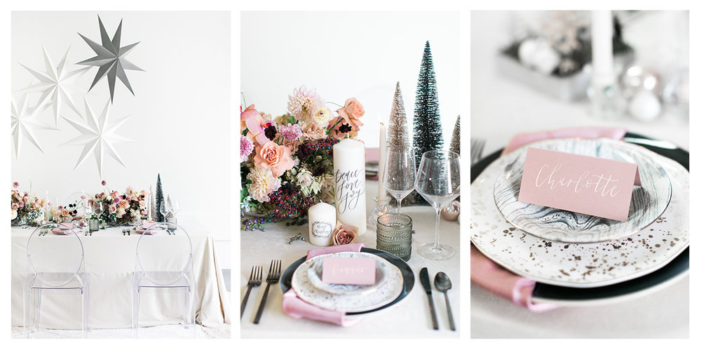 Winter Tablescape Inspiration | Pirouette Paper | Lovisa Photo | Penelope Pots