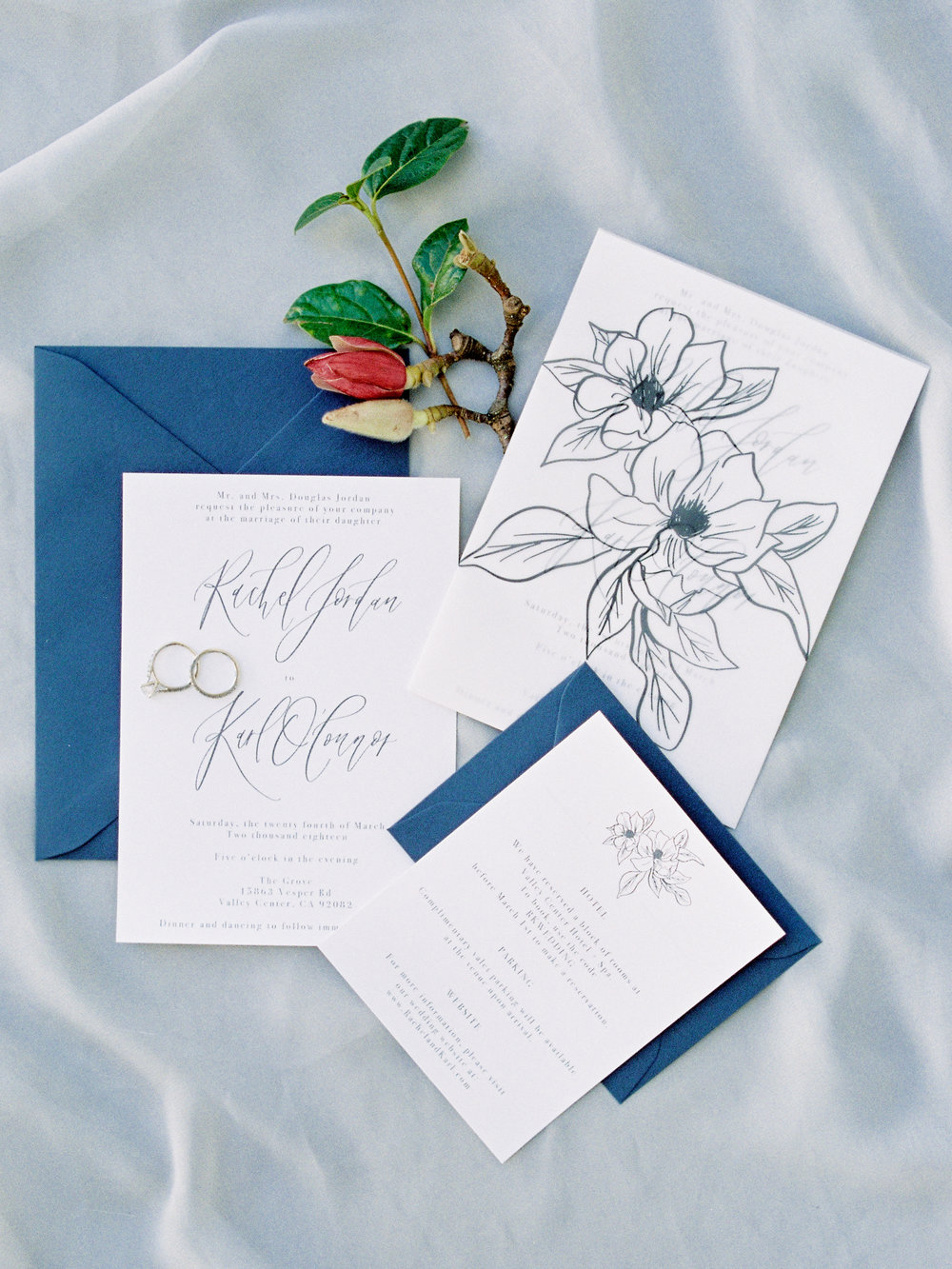 Savan Photography | The Grove San Diego | Pirouette Paper Calligraphy + Design