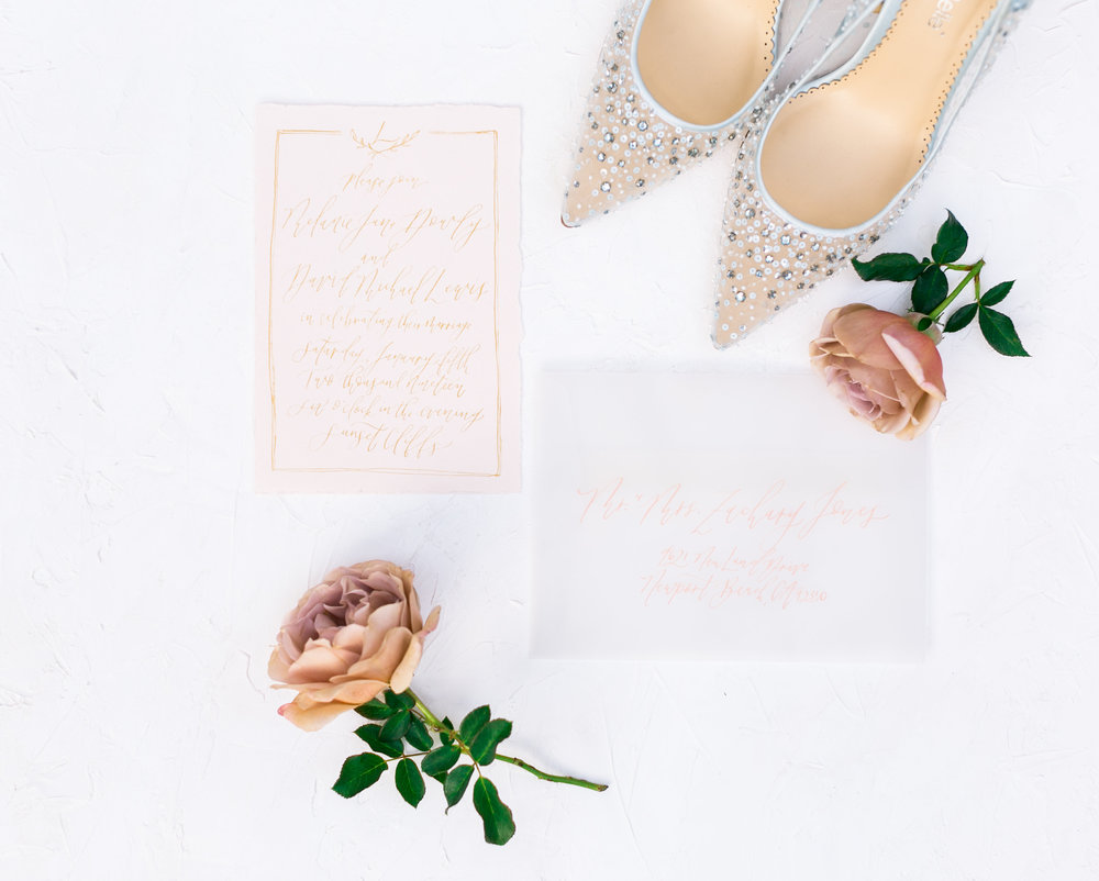 Natalie Schutt Photography | Pirouette Paper Calligraphy + Design | Ivory and Grace