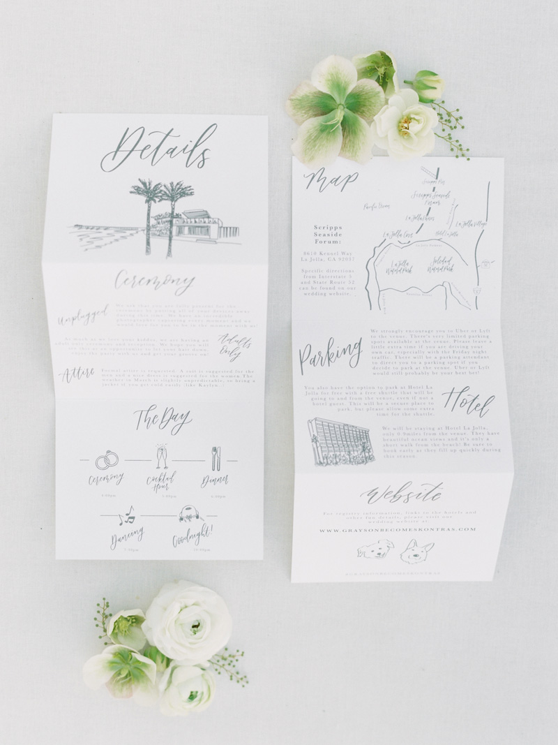 pirouettepaper.com | Wedding Stationery, Signage and Invitations | Pirouette Paper Company | Scripps Seaside Forum La Jolla Wedding | Savan Photography _ (15).jpg