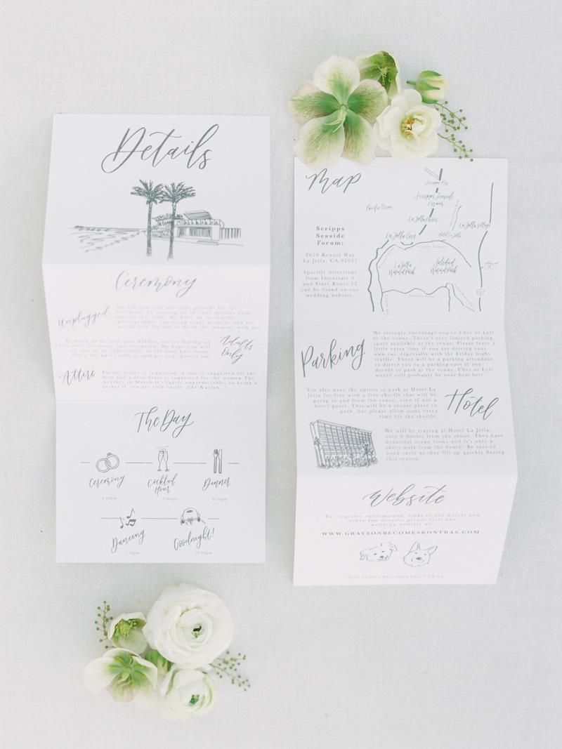 pirouettepaper.com | Wedding Stationery, Signage and Invitations | Pirouette Paper Company | Scripps Seaside Forum La Jolla Wedding | Savan Photography _ (15).jpg