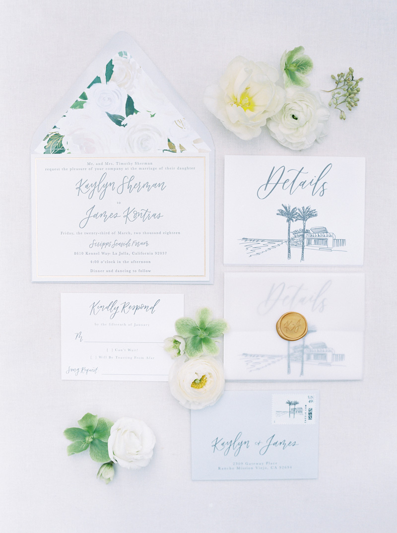 pirouettepaper.com | Wedding Stationery, Signage and Invitations | Pirouette Paper Company | Scripps Seaside Forum La Jolla Wedding | Savan Photography _ (24).jpg