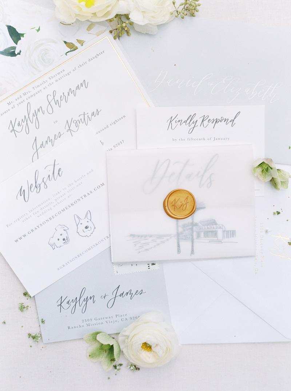 pirouettepaper.com | Wedding Stationery, Signage and Invitations | Pirouette Paper Company | Scripps Seaside Forum La Jolla Wedding | Savan Photography _ (25).jpg