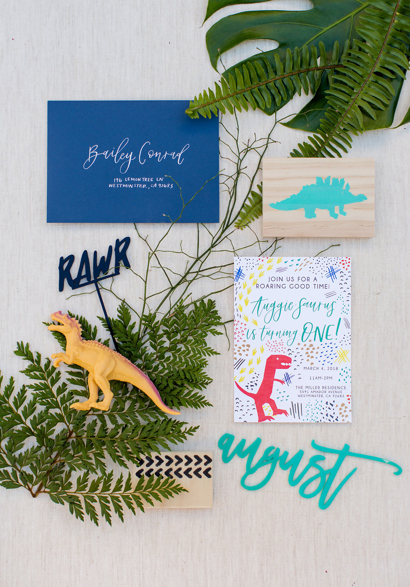 pirouettepaper.com | Wedding Stationery, Signage and Invitations | Pirouette Paper Company | Dinosaur Themed 1st Birthday | Lovisa Photography _ (9).jpg
