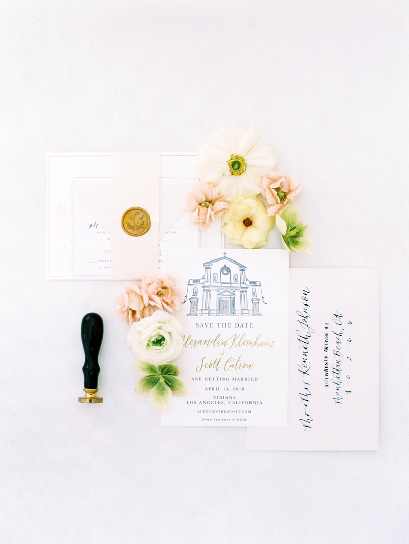 pirouettepaper.com | Wedding Stationery, Signage and Invitations | Pirouette Paper Company | Vibiana Downtown Los Angeles Wedding | Mallory Dawn Photography_ (17).jpg