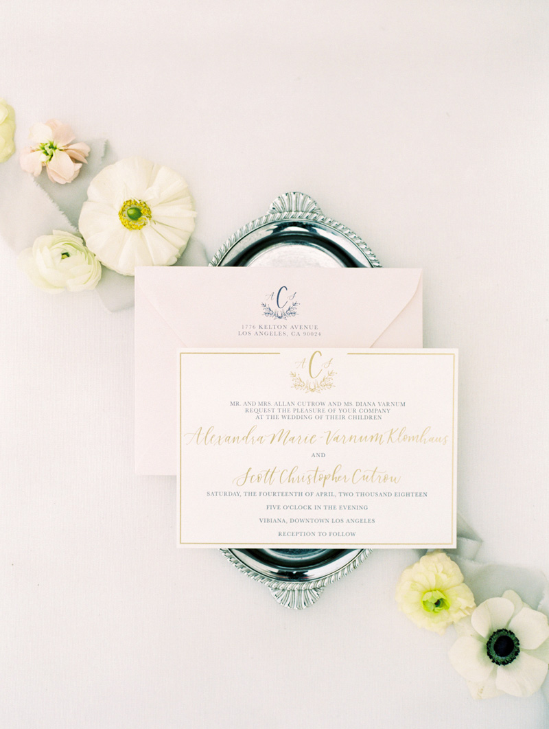 pirouettepaper.com | Wedding Stationery, Signage and Invitations | Pirouette Paper Company | Vibiana Downtown Los Angeles Wedding | Mallory Dawn Photography_ (20).jpg