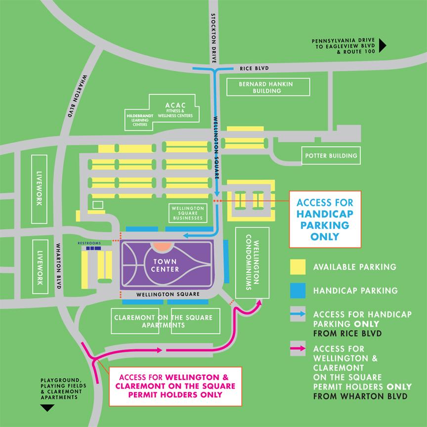 town center map 2014