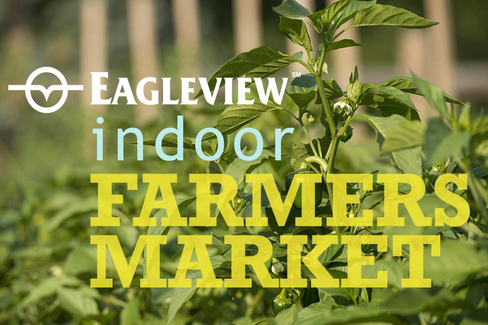 Indoor farmers market graphic