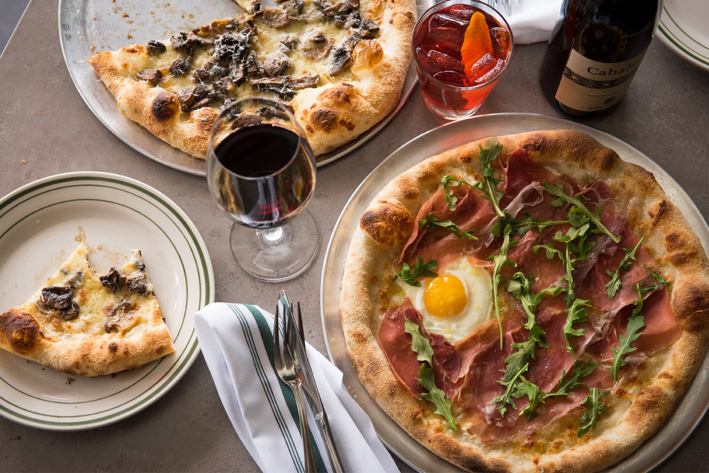 "Bella Vista - Bella Vista features an Italian-American twist with handmade pastas, New York-style pizza using high-end ingredients, a few sandwiches, and tantalizing sweets. Try the Italian-focused wine and ""super classic"
