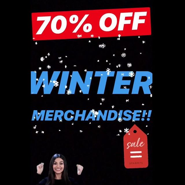 ⛄️ FLASH SALE!!! 70% OFF ALL ❄️ WINTER ❄️ MERCHANDISE!!! ☃️❄️*exclusions apply* 🛍