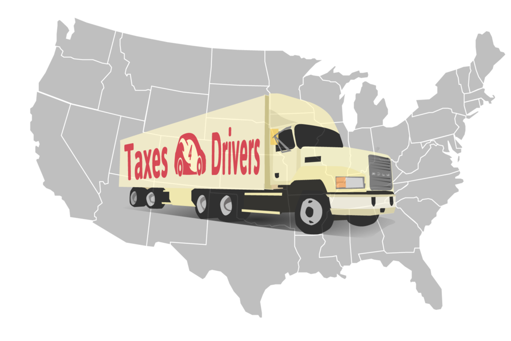 Taxes4Drivers USA Map