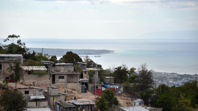 View of the Sainte Marie neighborhood in Port-au-Prince, Haiti, on Feb. 19, 2016, with the Bay of Port-au-Prince in the background   HECTOR RETAMAL/AFP/GETTY IMAGES