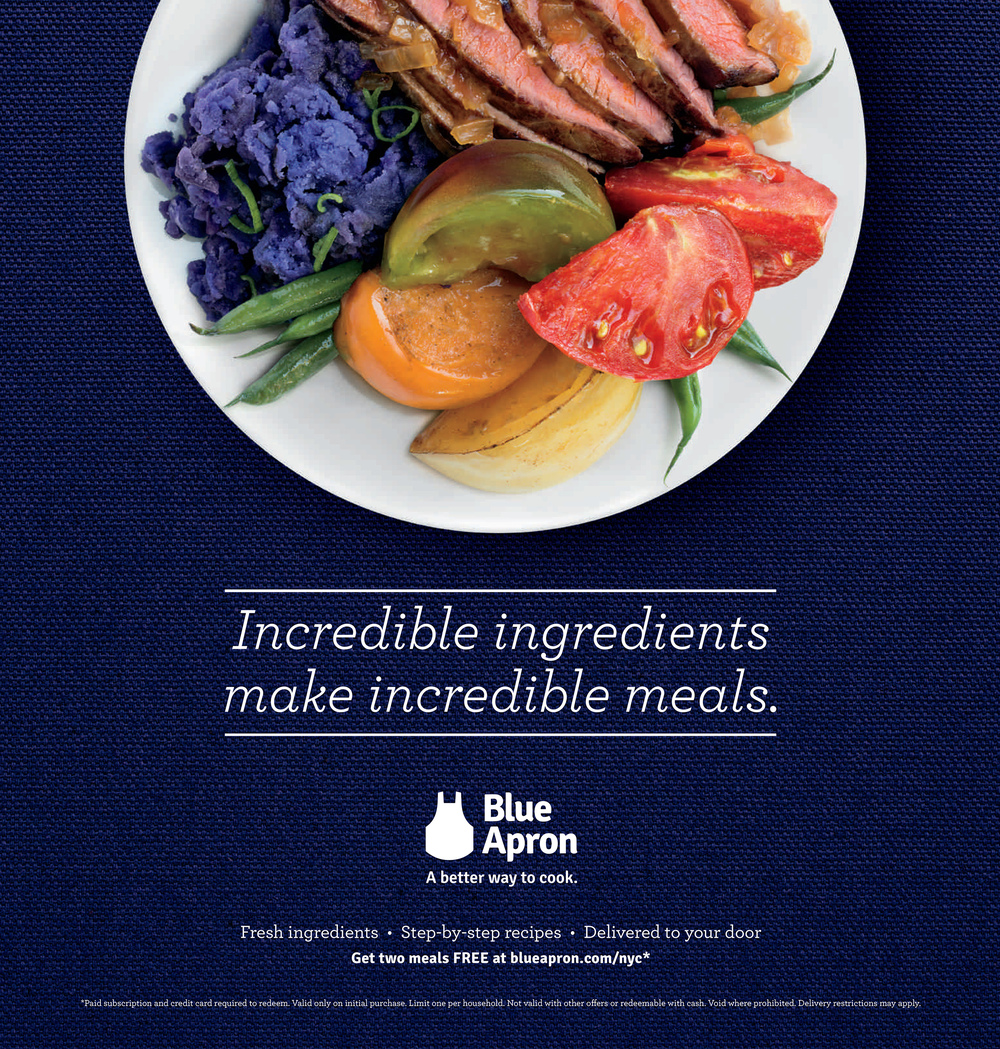 Blue apron not delivered