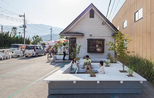 PIT TERRACE Jorge Almazán+Keio Univ Almazan Lab  Tokyo, Japan, 2016