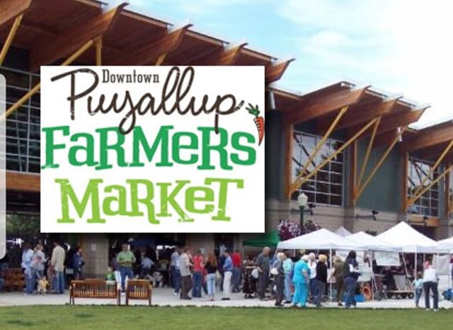Hey all! It's an exciting weekend for the Washington State Fair, but if you'd like to skip the fair food for something more nutritious, stop by the Puyallup Farmers Market right up the road! We're stocked up on Cheezits, Garlic, Smoothies and Sandwiches!!