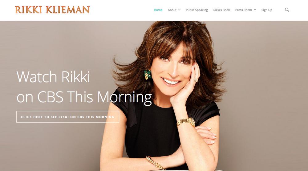 Visit Rikki Klieman
