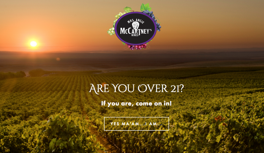 Visit Mrs. McCartney's Wines