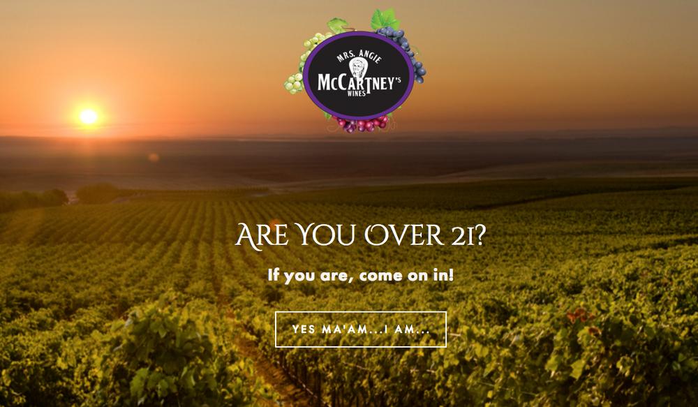 Visit Mrs. McCartney's Wines