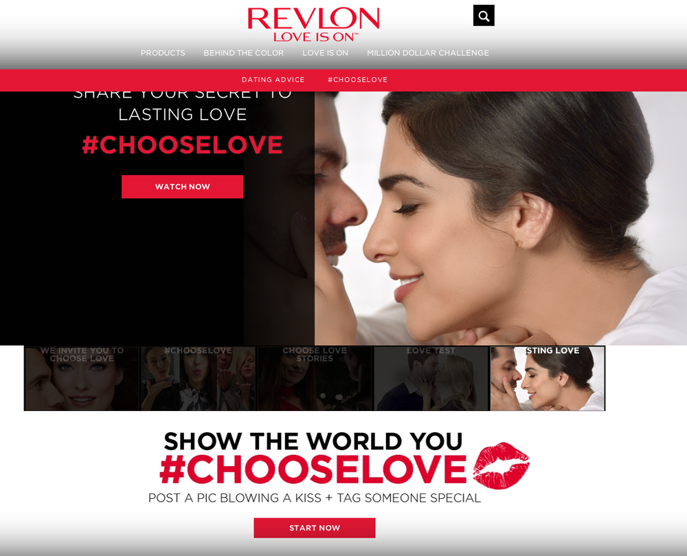 "Revlon ""Love Is On"""