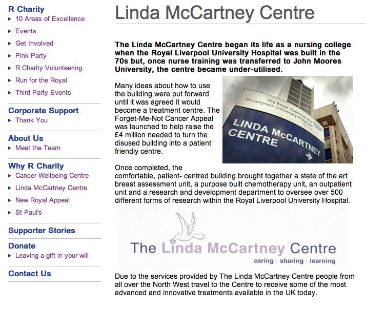 The Linda McCartney Centre