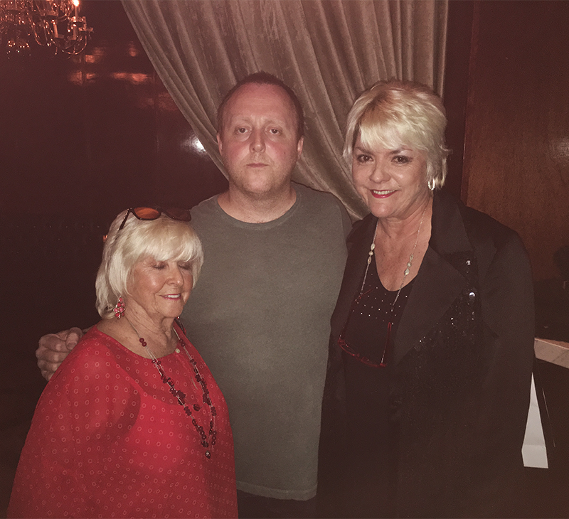 Angie McCartney, James McCartney, Ruth McCartney