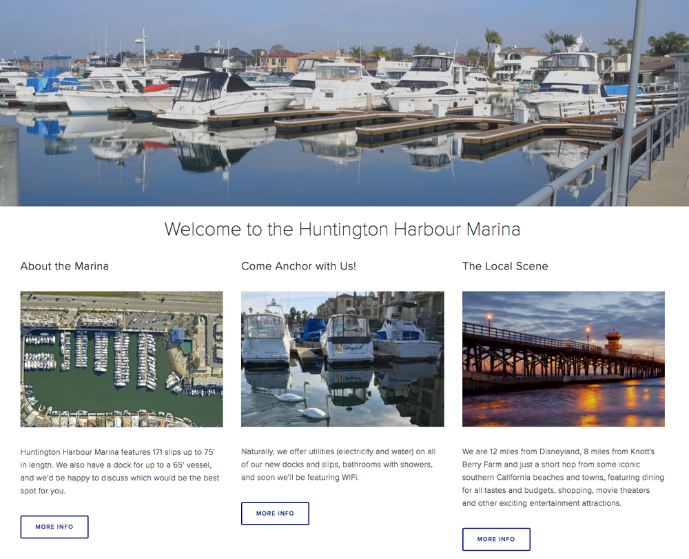 Huntington Harbour Marina