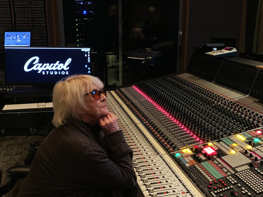 Dr. Angie McCartney reflecting on Geoff Emerick at Capitol Studios