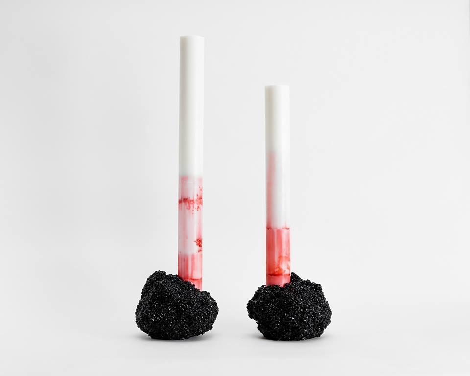 Phalt Candlesticks by Zero-Craft Corp.