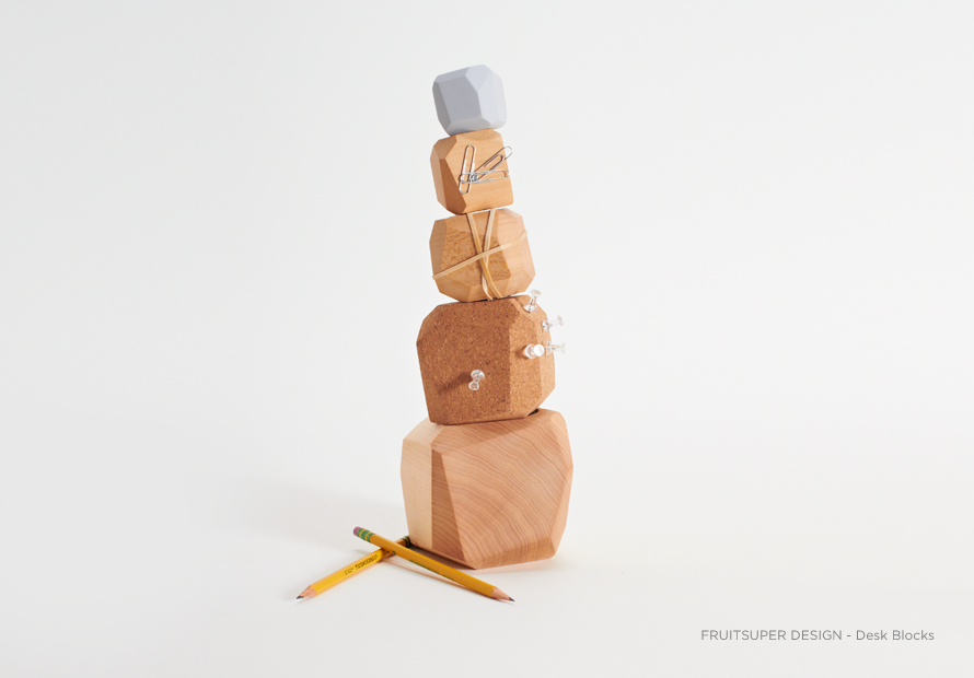 Desk Block by FruitSuper Design