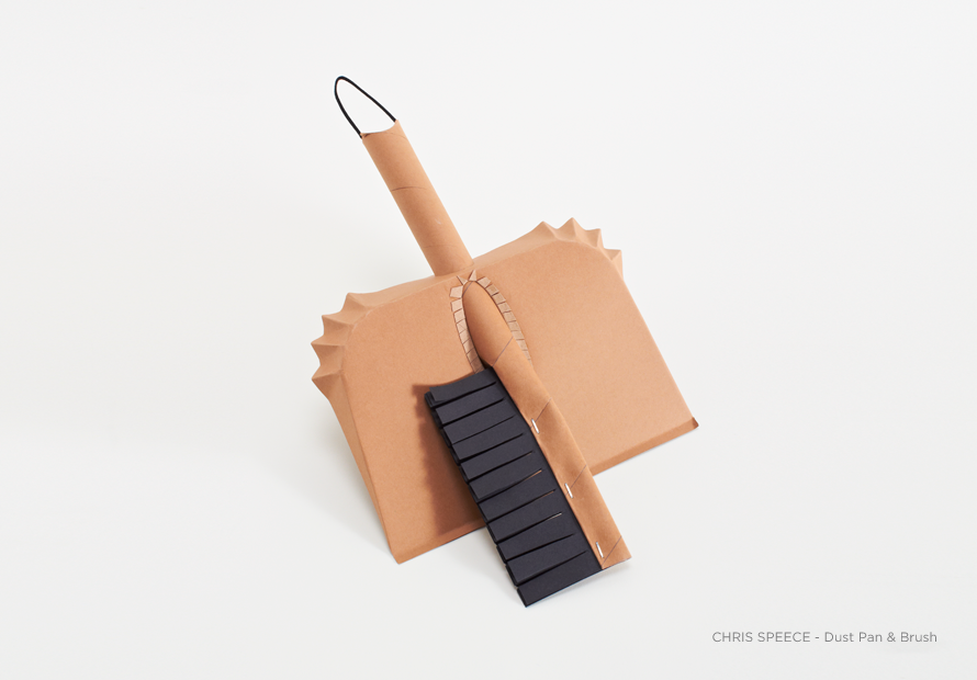 Dust Pan & Brush by Chris Speece