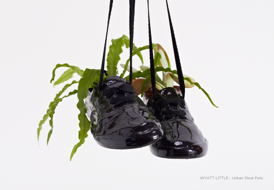 Urban Shoe Pots by Wyatt Little