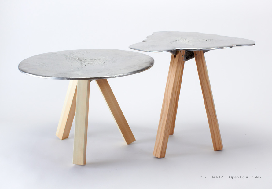 Open Pour Tables by Tim Richartz