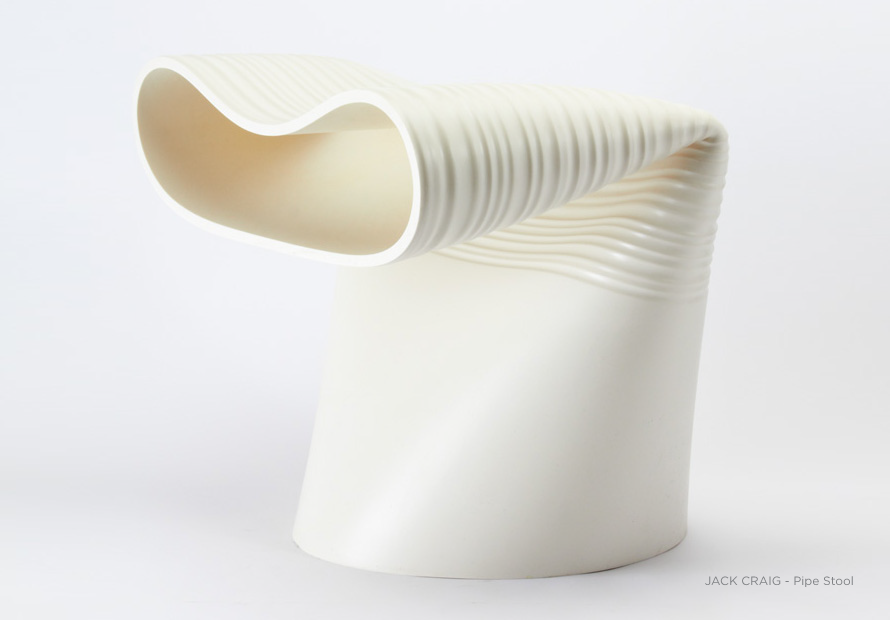 Pipe Stool by Jack Craig