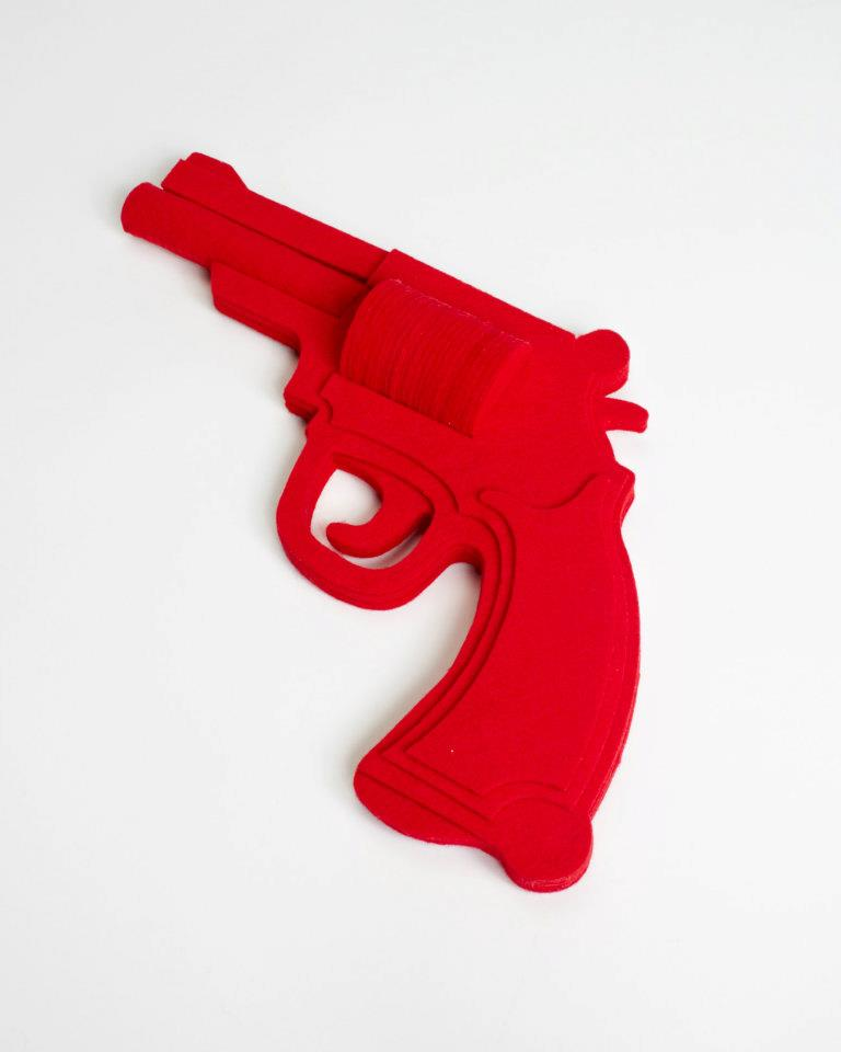 Felt Gun by Sarah Applebaum