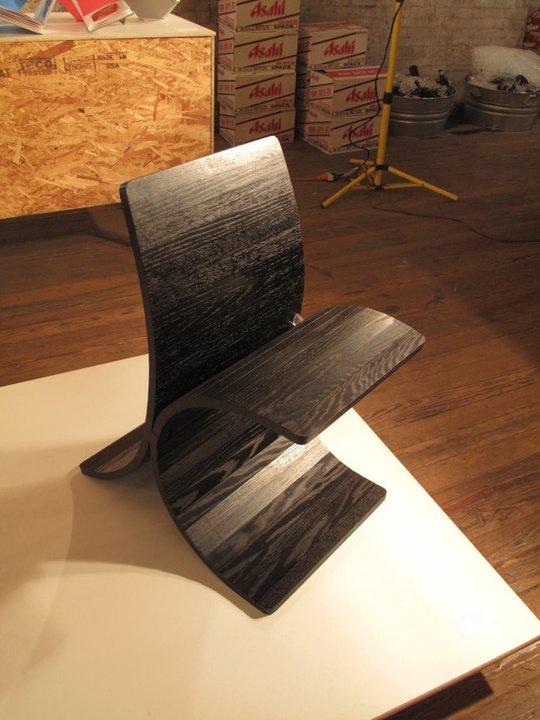 Zip Chair by Matthew Swinton