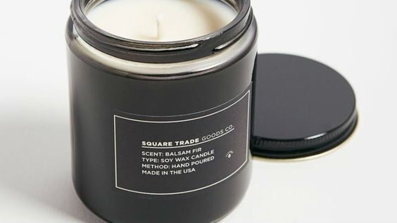 #6 - Balsam Fir Candle by Square Trade Goods Co.These candles by Square Trade goods Co. have musky, earthy, and fresh scents designed to appeal to men. But let's be real. They smell so good that they appeal to pretty much everyone.$25-$40Available at Canal Street Market and Artists and Fleas.