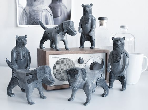 #8 - 3D printed bear and dog puzzles by LocknestersLocknesters have created a beautiful collection of puzzles that will please the child within while still looking sophisticated. A perfect desktop object!$45-$120Available online and at Canal Street Market and Artists and Fleas.