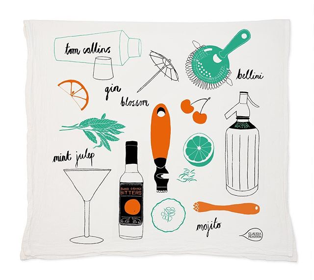 @claudiaillustration has the right idea 🍸 Check out more on americandesignclub.com