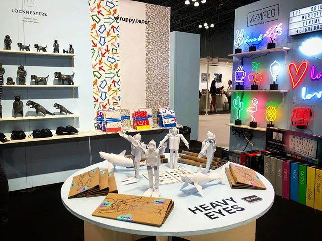 It's our last day at @ny_now so if you haven't stopped by the American Design Club booth #3862 come by today!