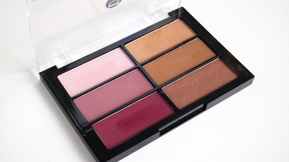 Viseart Blusher Palette in Plum Bronze