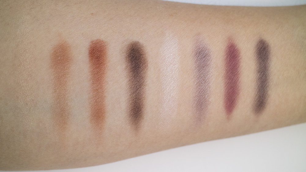 From L to R: Classic, Innocent, Whimsy, Smoked, Vintage, Fierce, No Filter, Vamp