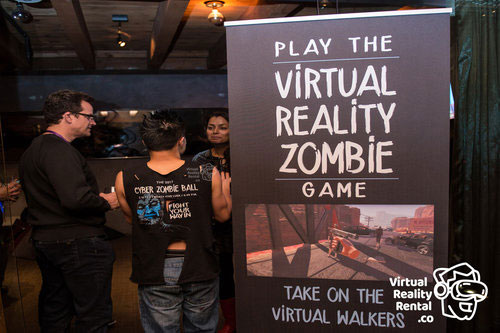 A10 RSA Conference Event VR Zombie Game