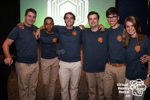 The VirtualRealityRental.co Team (William Griggs Is fourth from the left)