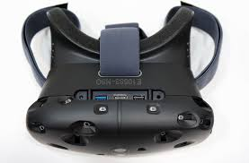 Top of HTC Vive Glasses