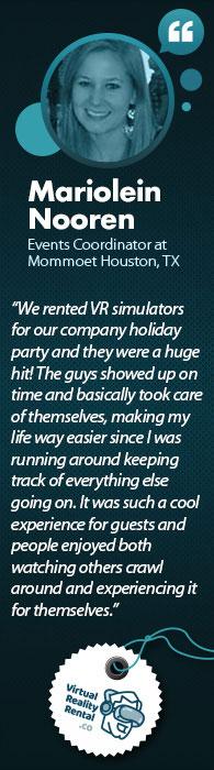 VR Testimonial Mariolein