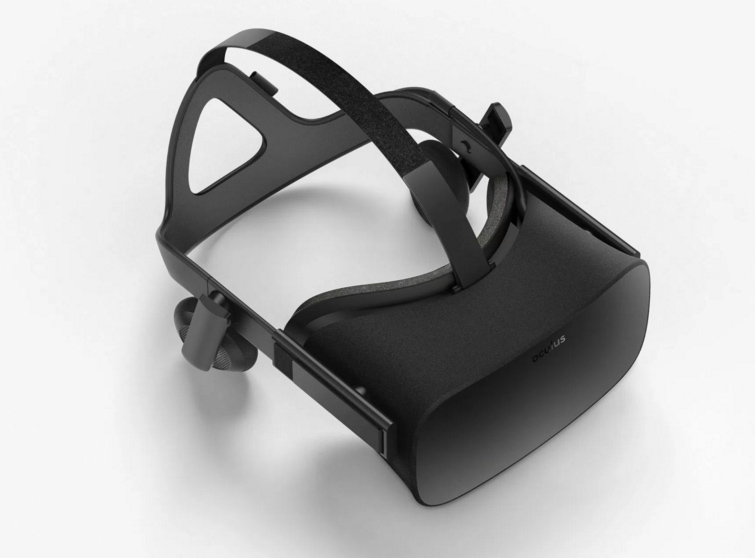 Oculus Rift Top View
