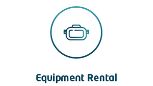 VR Equipment Rental Logo